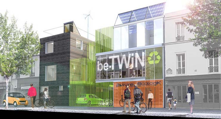 bt02 laraqui bringer architecture urbanisme. Black Bedroom Furniture Sets. Home Design Ideas