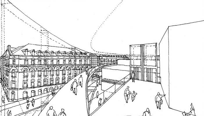 2008 centre des arts et 3 theatres sundsvall suede laraqui bringer architecture urbanisme. Black Bedroom Furniture Sets. Home Design Ideas