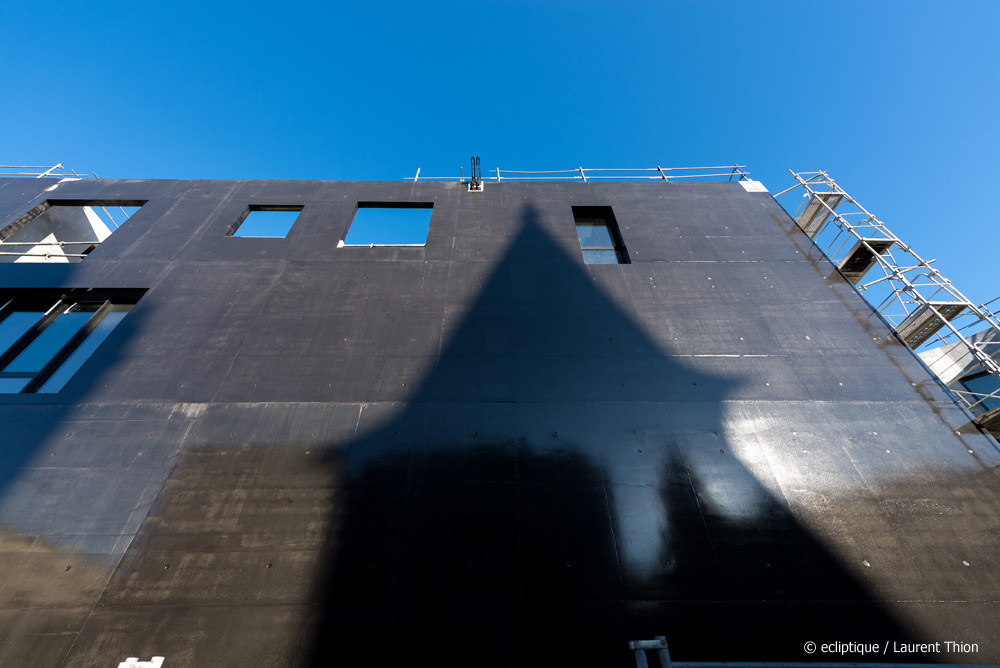 ecl lasure beton noir laraqui bringer architecture urbanisme. Black Bedroom Furniture Sets. Home Design Ideas