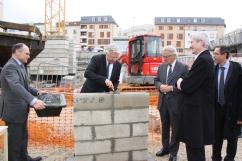 06.11.2013 Pose de la première pierre - Adjoint au maire 02