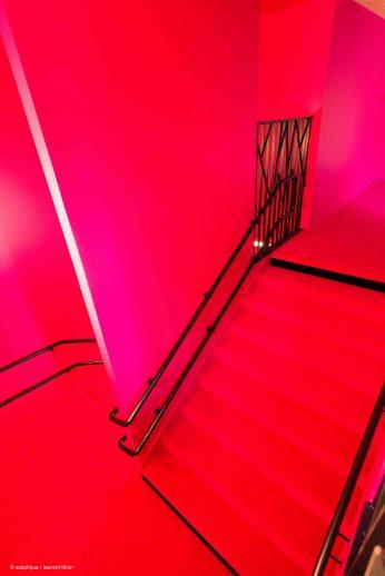Escalier Mezzanine Ludothèque